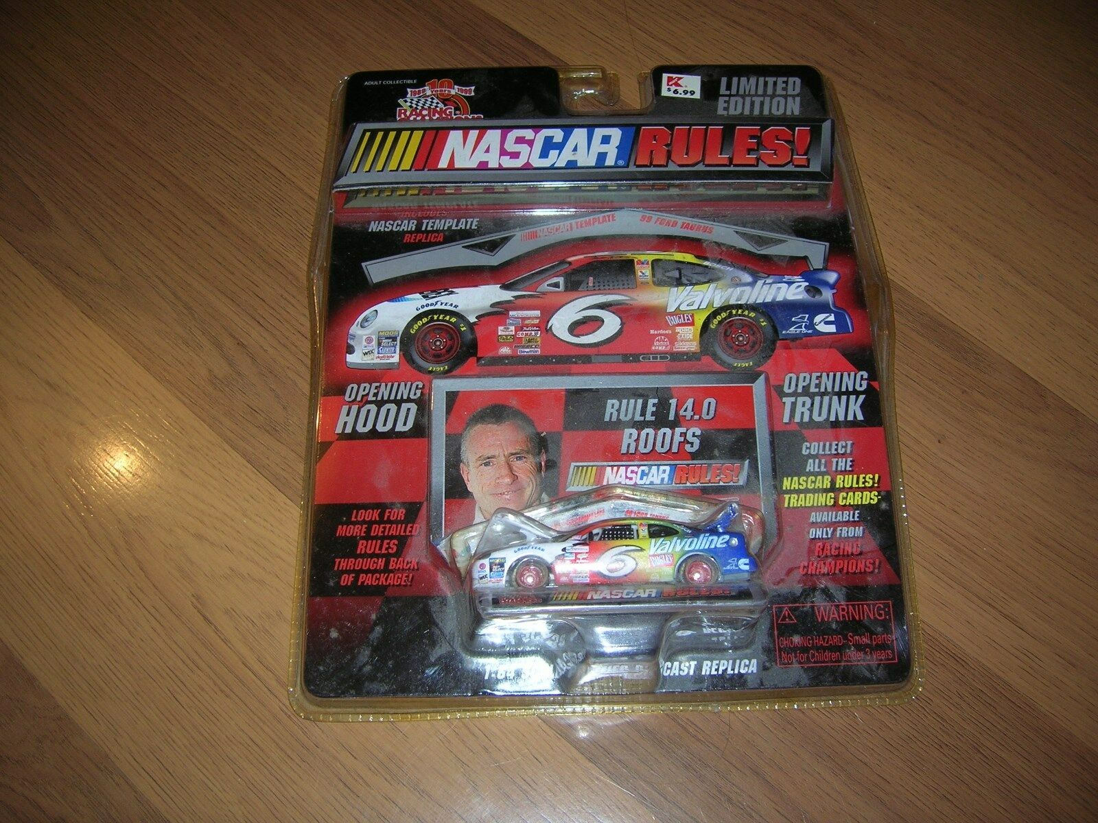 NASCAR RULES MARK MARTIN LIMITED EDITION RACING CHAMPIONSHIP