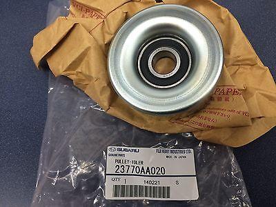Genuine Subaru Alternator Belt Idler Pulley Legacy Outback Tribeca 3.0 3.6 OEM !