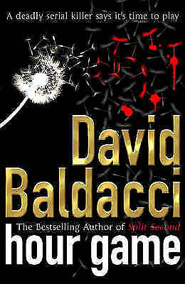 """AS NEW"" Hour Game, Baldacci, David, Book"