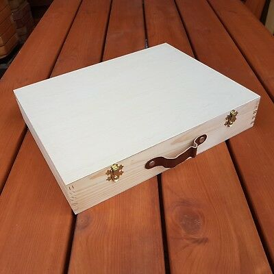Wooden Suitcase Box  Perfect for Decoupage