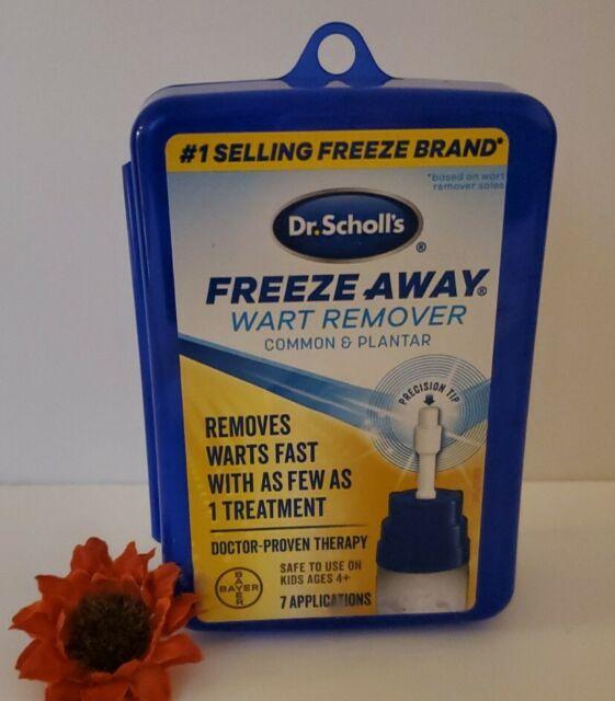 Dr scholl s freeze away facial warts