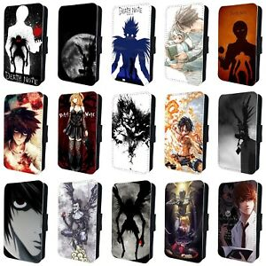 Details About Death Note Anime Manga Ryuk Light Yagami L Flip Case For Iphone 4 5 6 7 8 X
