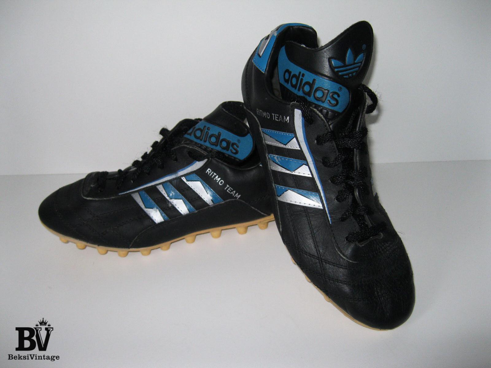 Vintage Retro Adidas Yugoslavia ritmo Equipo Fútbol botas Zapatos años 80 tamaño nos 7.5