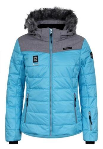 Icepeak Pridie Kunstpelzkragen Skijacke Damen türkis *UVP 149,99