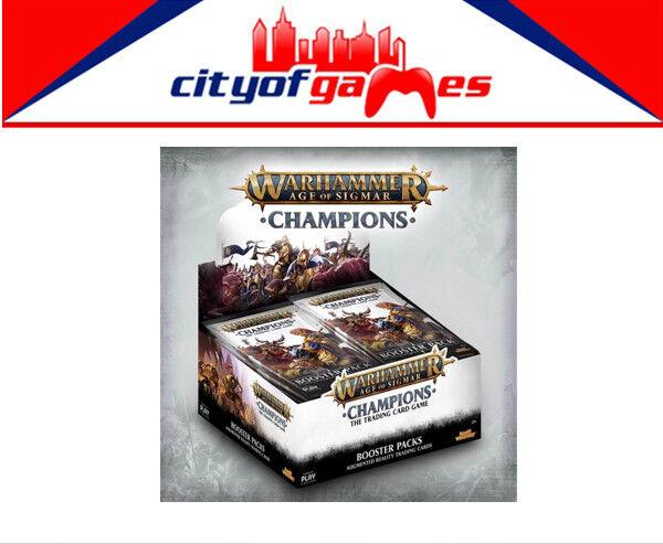 Warhammer TCG Age of Sigmar Champions Booster Box Display (24) Brand New