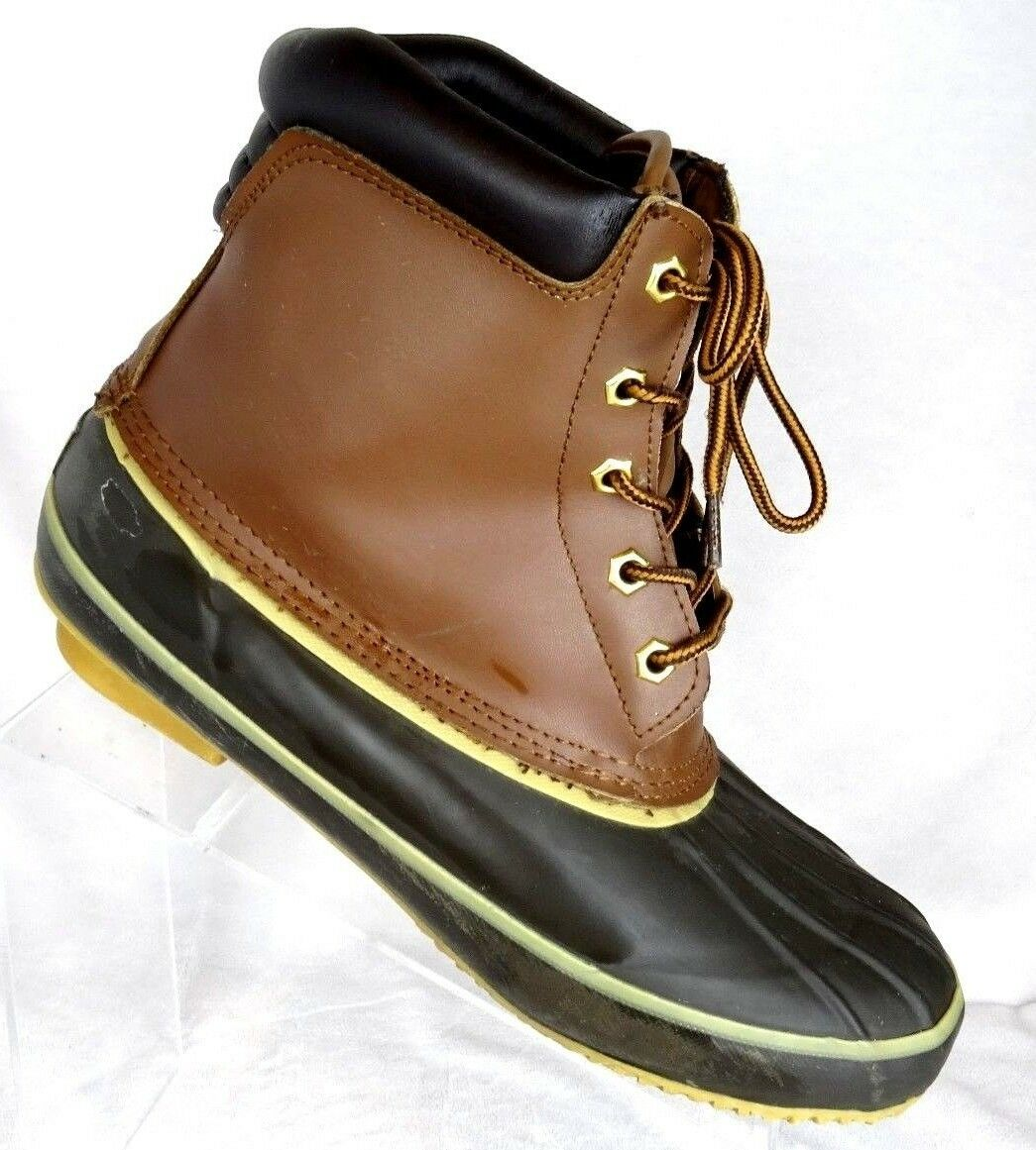 Tamarack Duck Boot for Men Size 13M JPJL-111505-M Brown Steel Shank shoes