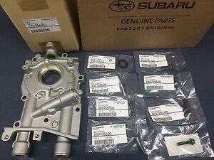 Genuine-OEM-Subaru-10mm-Oil-Pump-w-Seal-amp-O-Ring-Bolts-WRX-STi-Legacy-Forester