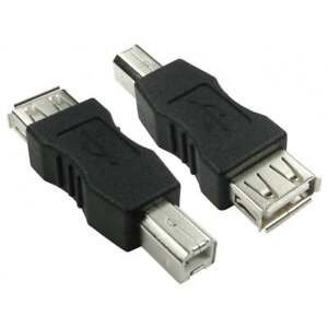 USB-2-0-Type-A-Female-to-Type-B-Male-Adaptor-Converter-Black-Adapter