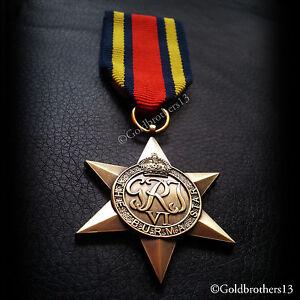 BURMA-STAR-BRITISH-MILITARY-MEDAL-WW2-BRITISH-VETERANS-COMMONWEALTH-COPY
