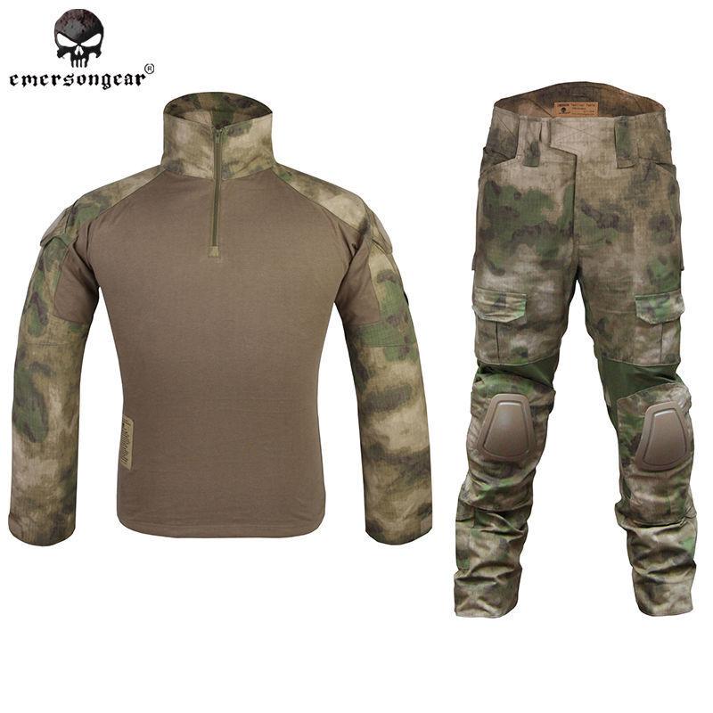 EMERSON Gen2 Combat Uniform CYPE estilo táctico BDU Airsoft A-tacs Fg Camo