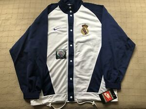 size 40 55ad2 2f3a1 Details about Vintage real madrid basketball nike jacket new with tags  jersey xl kelme hummel- show original title