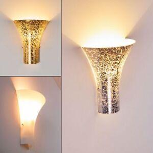 Luxus Wand Lampen Schalter Silberfarbene Wohn Schlaf Zimmer Dielen Flur Leuchten