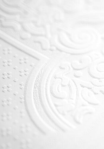 Oriental RD06700 Anaglypta Dado Panel Wallpaper Multiple Rolls