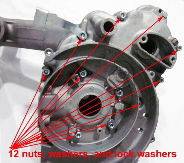 Vespa Engine Bolt case nut PX Sprint Super bolts VBB GL