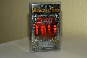 Fear Factory - Monsters Of Rock serie (2002) Death Metal, CASSETTE, OOP! M/NM!