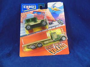 Scarse-1992-CORGI-JUNIORS-Twin-Pack-N-92627-NATO-JEEP-amp-NATO-Pianale-Autocarro