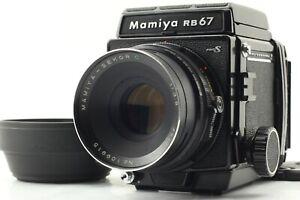 EXC-5-Mamiya-RB67-Pro-S-Com-Sekor-C-F3-8-127mm-Lente-filmback-120-Do-Japao
