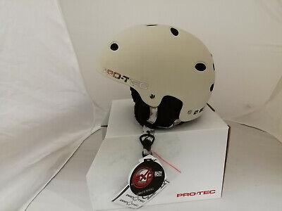 Rubber Sand Camo Gr 57-60 cm////17D Pro-Tec Erwachsene Helm B2 Snow 882