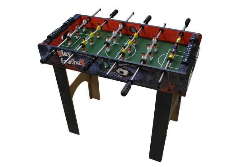 CALCETTO BALILLA LEGNO BAMBINI GIOCO CM 87 X 78X 43 table football