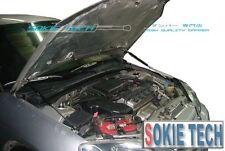 01-05 Honda Civic ES Black Strut Gas Hood Shock Lifter Stainless Damper Kit
