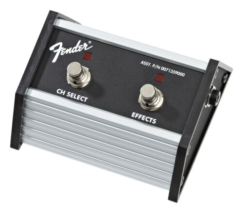 Fender Footswitch 2-Button Fuss-Schalter Treter Channel Select Effekte On//Off