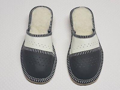 Abile Pantofole Da Donna-ciabatte-clogs Vera Pelle Tg. 40-toffeln-latschen Echt Leder Gr.40 It-it Mostra Il Titolo Originale Rafforza Tendini E Ossa