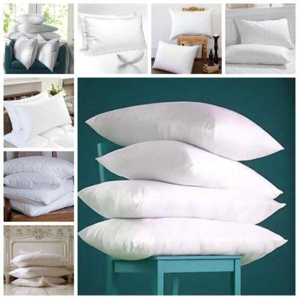 **special Offer** 4 X Duck Feather & Down Hotel Quality Roma Brand Pillows