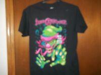 Neon Colored Insane Clown Posse Black T-shirt Small Or Medium