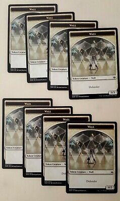 #04//19 WALL TOKEN x4 ~mtg NM War of The Spark