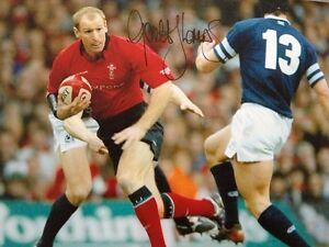Gareth Thomas - Rugby Gallois LÉgende - Brillant SignÉ Couleur Action Photo Fixation Des Prix En Fonction De La Qualité Des Produits