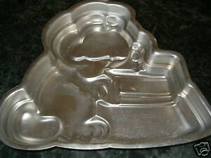 Image Is Loading VINTAGE 1981 WILTON GARFIELD 1ST BIRTHDAY CAKE PAN