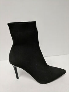 Tormento Anónimo Requisitos  Steve Madden Claire Calcetín Botas, negro, mujeres 8 M   eBay