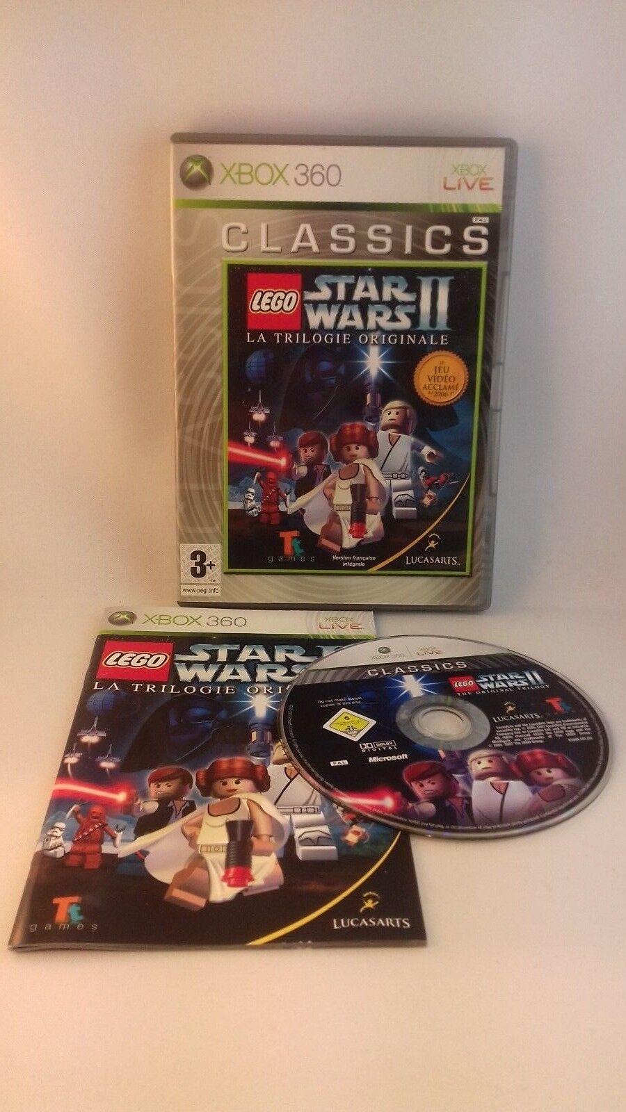 Jeu Xbox 360 Lego star wars 2 La trilogie - Avis StarWars