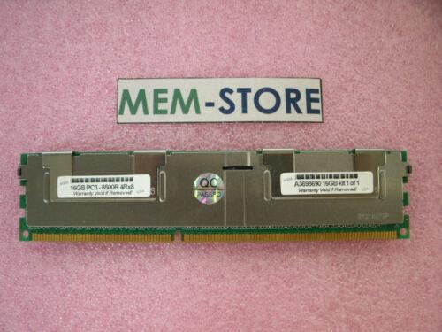 R710 A3698690 16GB PC3-8500R 1066MHz 4R Memory Dell PowerEdge R610 R715