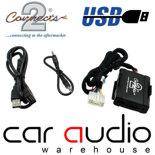 Connects 2 ctalxusb 002 para Lexus IS200 pre 2004 Adaptador De Interfaz USB AUX en poner