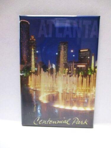 Atlanta Centennial Park USA Souvenir Foto Magnet,Amerika,Neu 67