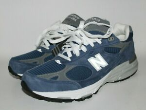 fd8990a2949d0 New Balance Blue 993 USA Walking Athletic Running Shoe Mens Size 11 ...