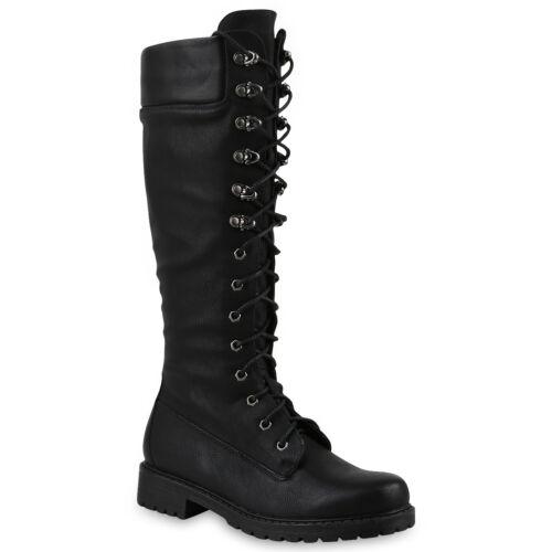 892946 Damen Stiefel Worker Boots Outdoor Leicht Schuhe Trendy