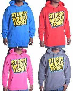 new stussy mens zipper sweatshirt jacket 2 colors to choose.