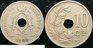 1928 Belgique Belgique Belgie 10 Cents Centimes Pusubqai-08004739-691291956