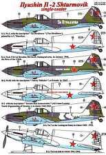 AML Models Decals 1/48 ILYUSHIN IL-2 STURMOVIK Single Seat Attack Plane