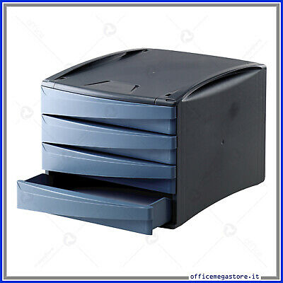 cassettiera organizer da tavolo scrivania per ufficio in ...