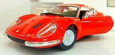 G LGB 1:24 Scale Ferrari Dino 246 GTB 1968 26015 Burago Very Detailed Model Car