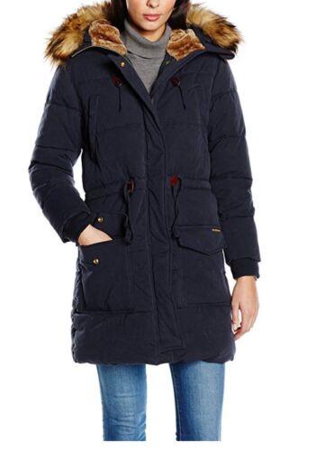 Sleeve Coat Women's S Long Jeans Garland Navy Size Pepe HxgTXIx