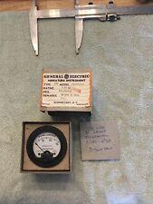 Vtg Radio Panel Meter Ge Dc Milliamperes 0 30 Model Asd49 1 Me454