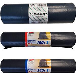 Muellsaecke-EXTRASTARK-120L-150L-240L-Muellbeutel-Abfallbeutel-Muellsack-Muelltuete