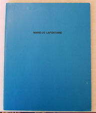 Marie-Jo Lafontaine 1989 Fruitmarket Gallery Exhibition Catalog