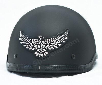 Eagle Rhinestone Helmet Patch Motorcycle Decal Biker MX ATV Sticker Racing NEW