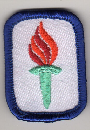 Girl Scouts Cadette Senior IPP Interest Project Badge Patch~1997 Navy~Leadership