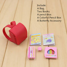 """New Arrival!1PC  Red Bag For 12"""" Blythe Azone Doll Factory Nude Doll"""